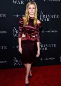Katherine McNamara attends L.A. Premiere of 'A Private War' at Goldwyn Theater in Beverly Hills, Los Angeles