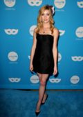 Katherine McNamara attends the UNICEF Masquerade Ball at Clifton's Republic in Los Angeles