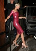 Katy Perry celebrates her 34th birthday with Orlando Bloom at Barton G restaurant in West Hollywood, Los Angeles