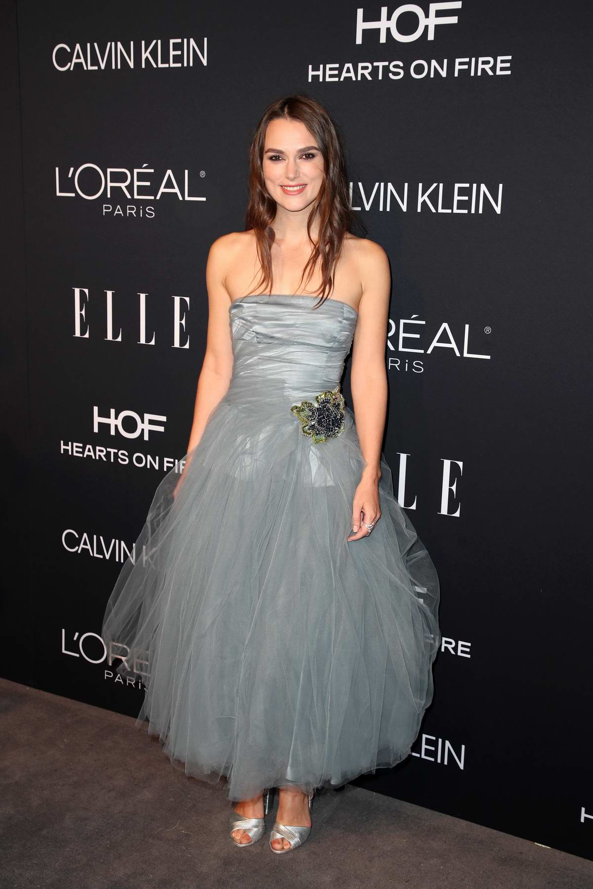 Keira Knightley attends ELLE's 25th Annual Women In Hollywood Celebration at the Four Seasons Hotel in Beverly Hills, Los Angeles