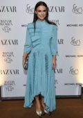 Keira Knightley attends the Harper's Bazaar Women of the Year Awards 2018 in London, UK
