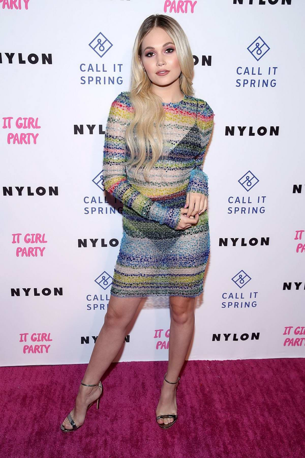 Kelli Berglund attends NYLON's Annual It Girl Party at The Ace Hotel in Los Angeles