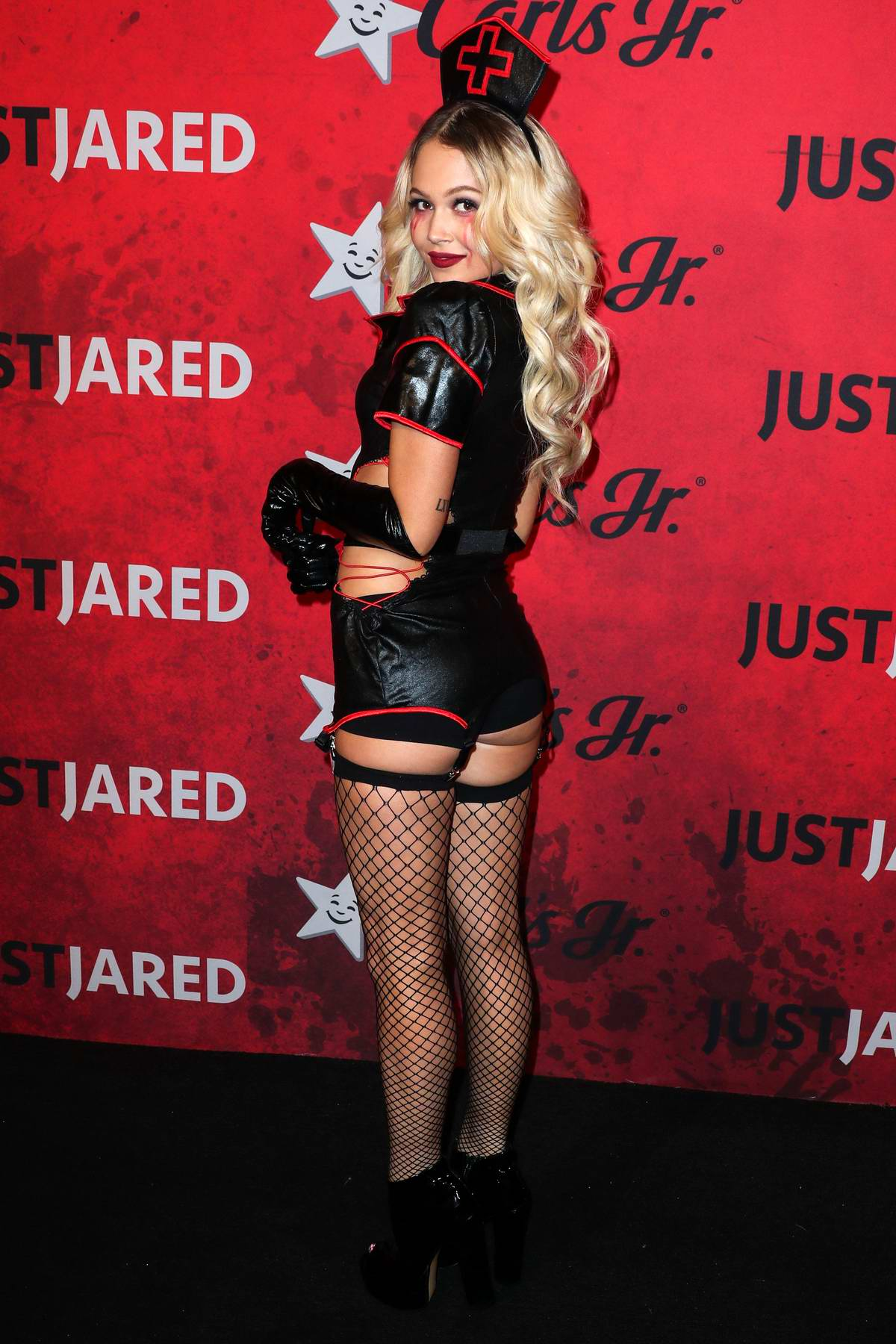 Kelli Berglund attends the Just Jared's 7th Annual Halloween Party at Goya Studios in Los Angeles