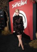 Kiernan Shipka attends Netflix Original Series 'Chilling Adventures of Sabrina' red carpet and premiere event in Los Angeles