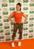 Kira Kosarin attends Nickelodeon's SLIMEFEST at Blackpool Pleasure Beach in Blackpool, UK