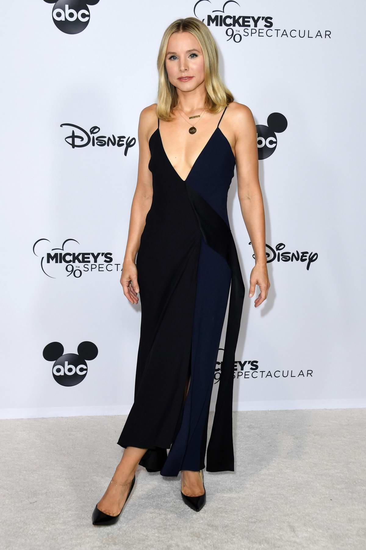 Kristen Bell attends Mickey's 90th Spectacular at Shrine Auditorium in Los Angeles
