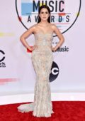 Laura Marano attends 2018 American Music Awards (AMA 2018) at Microsoft Theater in Los Angeles