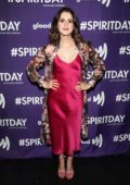 Laura Marano attends GLAAD Present 'BEYOND' Spirit Day Concert in Hollywood, Los Angeles