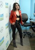 Laura Marano visits 'The Elvis Duran Z100 Morning Show' at Z100 Studio in New York City