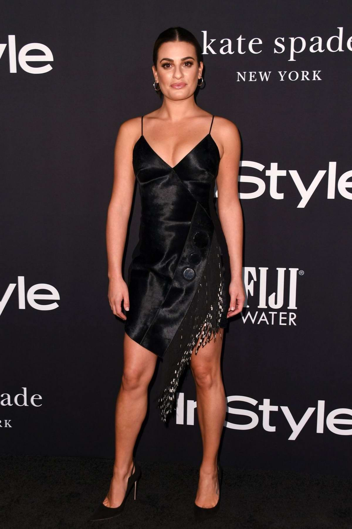 Lea Michele attends the 4th Annual InStyle Awards 2018 at the Getty Center in Los Angeles