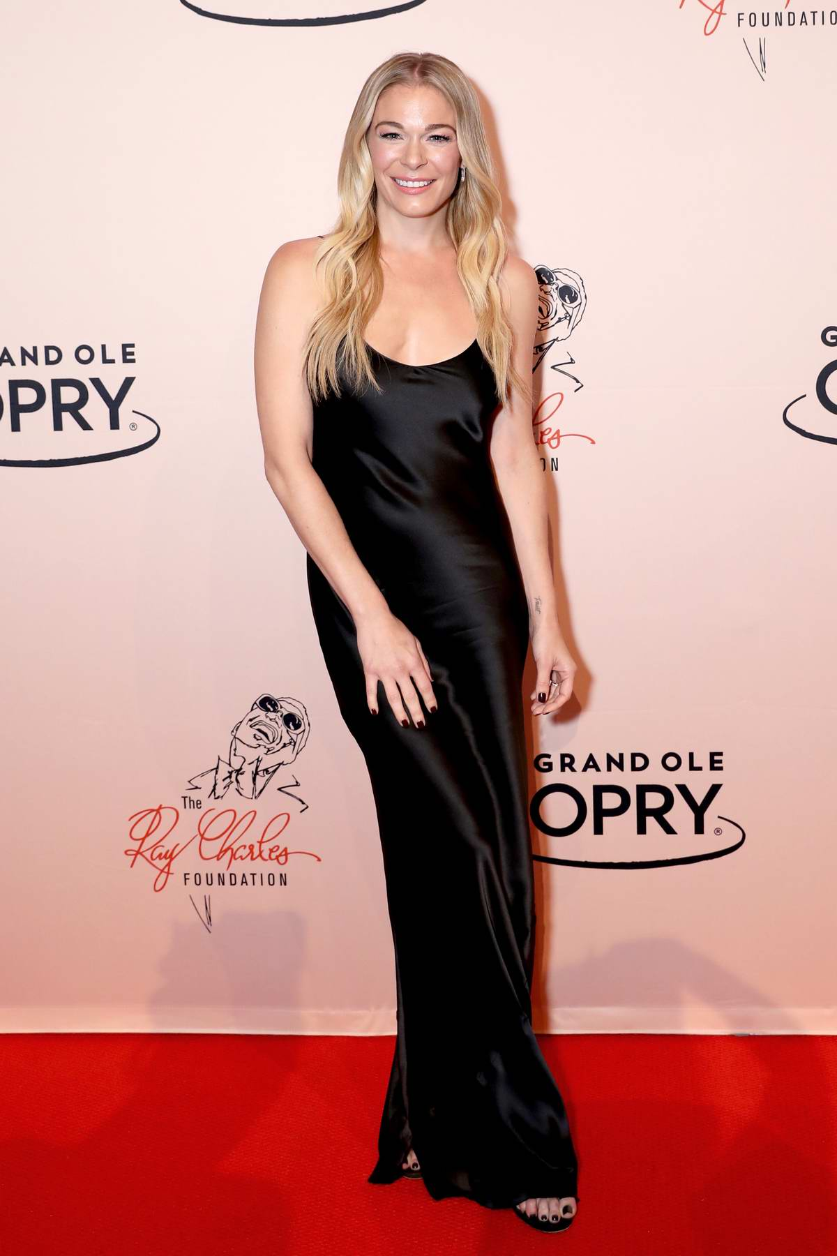 LeAnn Rimes attends 'An Opry Salute To Ray Charles' at the Grand Ole Opry in Nashville, Tennessee