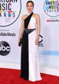 Leighton Meester attends 2018 American Music Awards (AMA 2018) at Microsoft Theater in Los Angeles