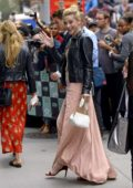 Lili Reinhart greets her fans while visiting AOL Build Series in New York City