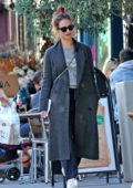 Lily James and boyfriend Matt Smith enjoys a day of shopping around the plush Hampstead area in London, UK