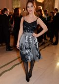 Lily James attends the Harper's Bazaar Women of the Year Awards 2018 in London, UK