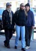 Lily-Rose Depp steps out with her mom Vanessa Paradis and brother Jack Depp in New York City