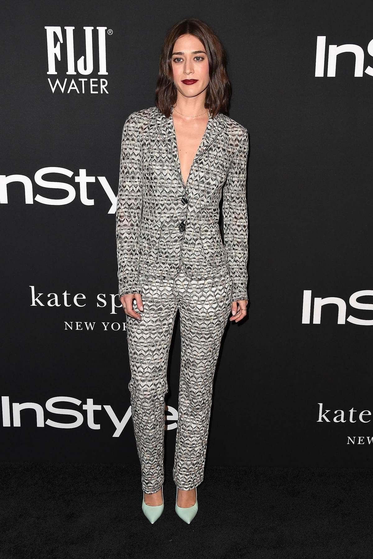 Lizzy Caplan attends the 4th Annual InStyle Awards 2018 at the Getty Center in Los Angeles