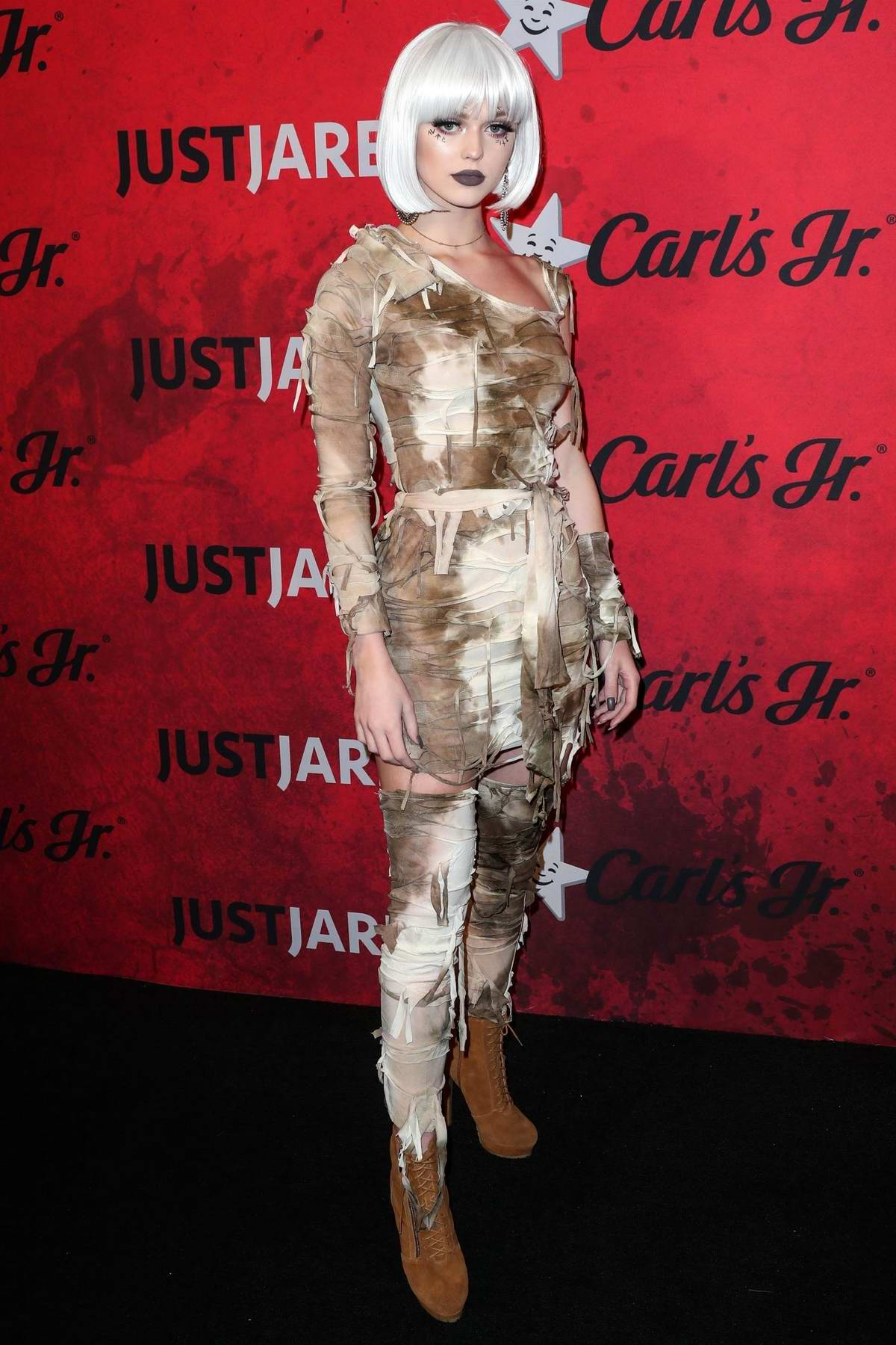 Loren Gray attends the Just Jared's 7th Annual Halloween Party at Goya Studios in Los Angeles