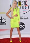 Loren Grey attends 2018 American Music Awards (AMA 2018) at Microsoft Theater in Los Angeles