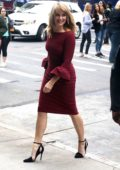 Madchen Amick visits AOL Build Studios in New York City