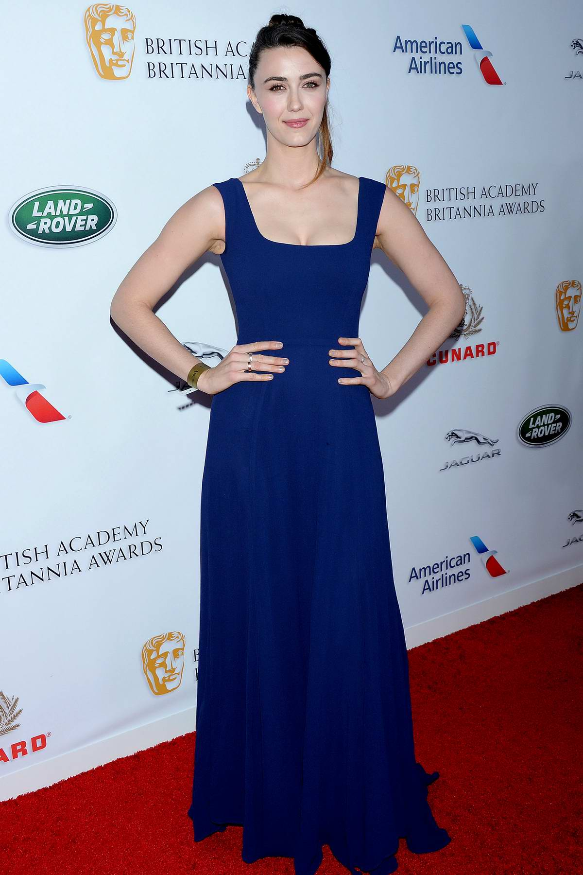 Madeline Zima attends the British Academy Britannia Awards 2018 at The Beverly Hilton Hotel in Los Angeles