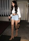 Madison Beer enjoys a night out with her friends at Delilah's in West Hollywood, Los Angeles
