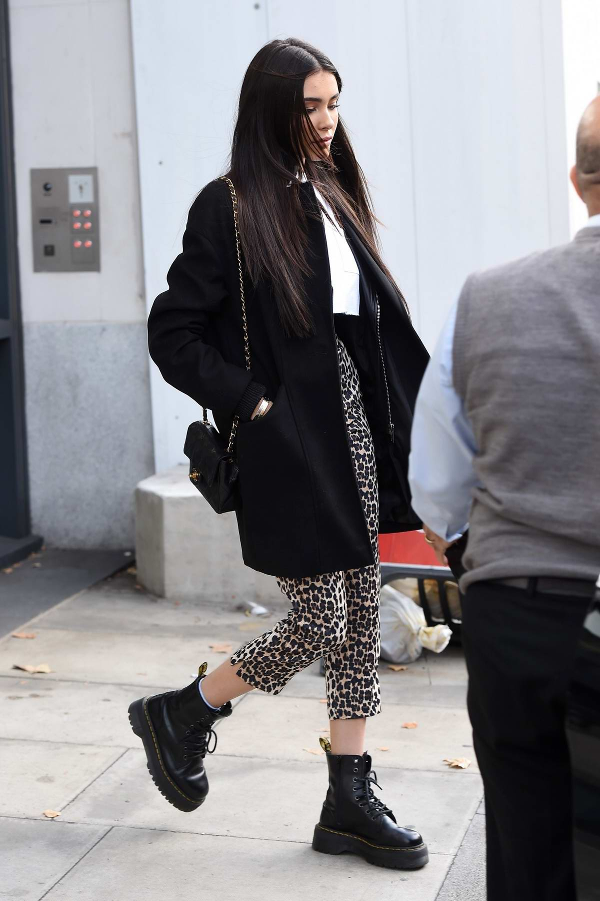 ebe6270874d5 madison beer leaving the vevo offices in london, uk-231018_3