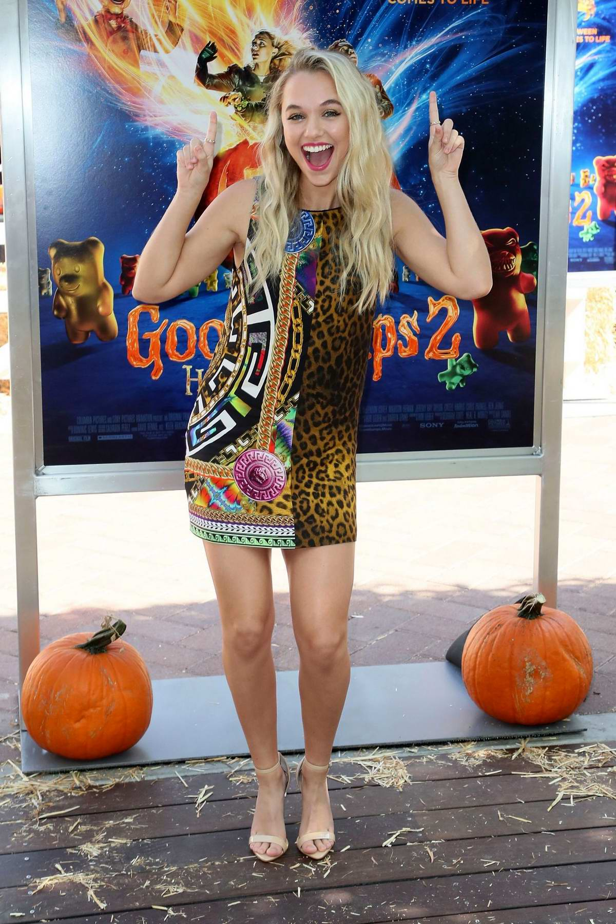 Madison Iseman attends 'Goosebumps 2: Haunted Halloween' Special Screening in Culver City, California