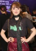 Maisie Williams attends the press night of 'I and You' at Hampstead Theatre at Hampstead Heath in London, UK
