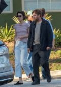 Mary Elizabeth Winstead visits boyfriend Ewan McGregor on the set of 'Doctor Sleep' in Atlanta, Georgia