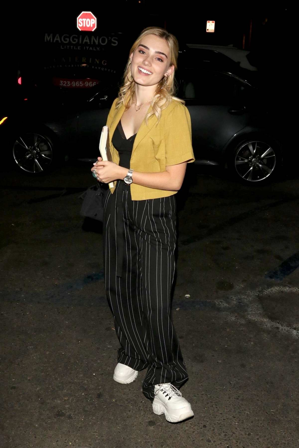 Meg Donnelly seen out at The Grove in Los Angeles