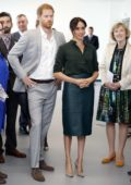 Meghan Markle and Prince Harry visits the University of Chichester in West Sussex, UK