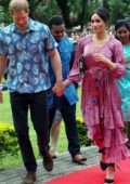 Meghan Markle and Prince Harry visits the University of the South Pacific Campus in Suva, Fiji