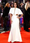 Michelle Rodriguez attends the European Premiere of 'Widows' and opening night gala of the 62nd BFI London Film Festival in London, UK