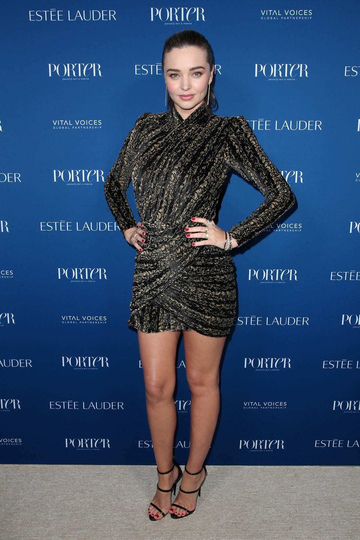 Miranda Kerr attends Porter's 3rd Annual Incredible Women Gala in Los Angeles