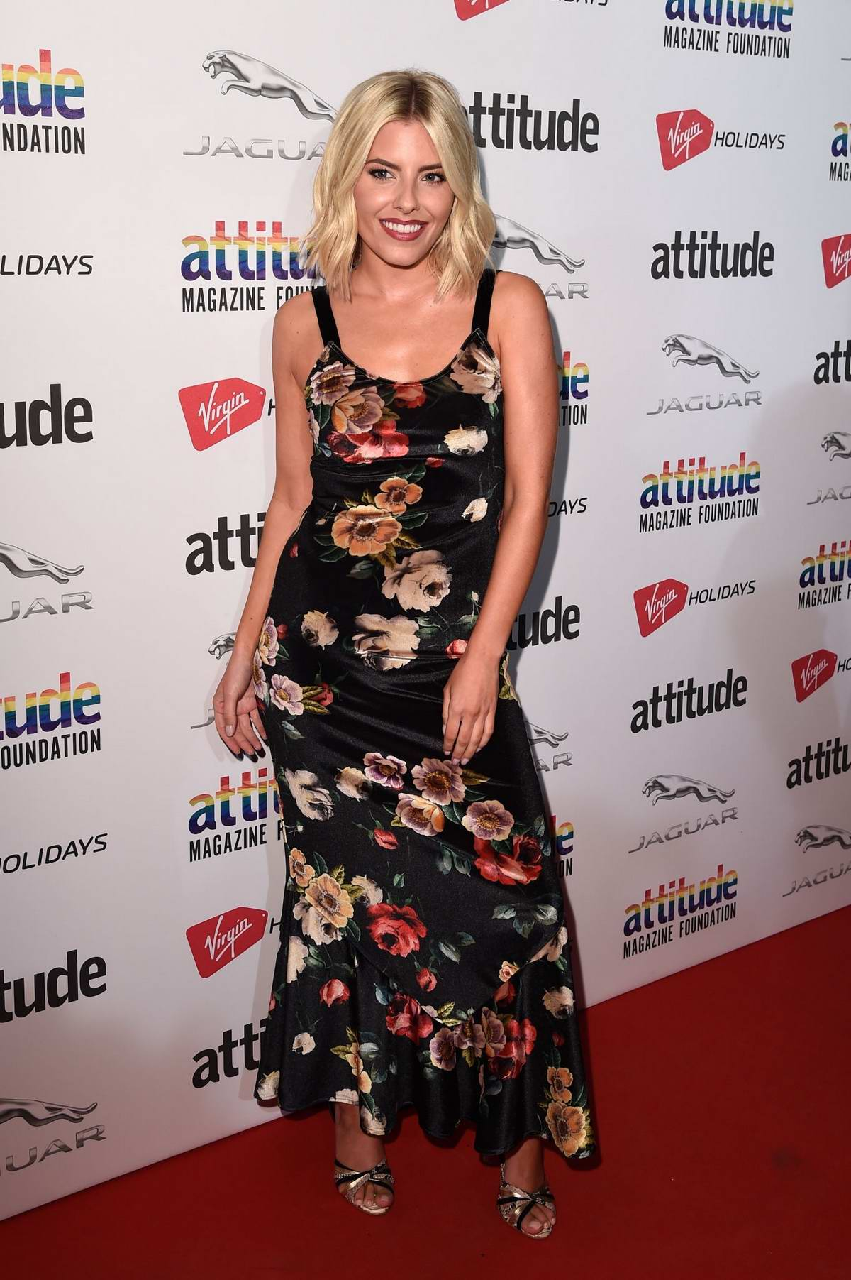 Mollie King attends The Virgin Holidays Attitude Awards in London, UK