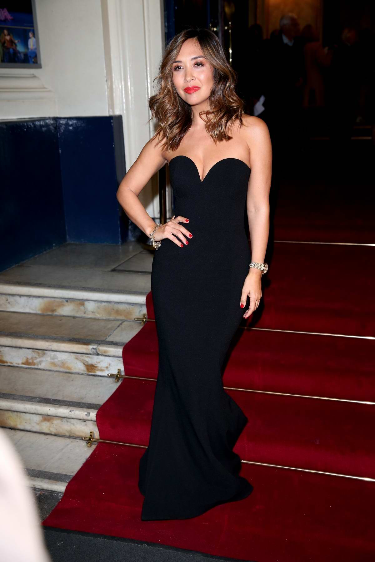 Myleene Klass attends Time Flies Royal Charity Gala at Theatre Royal, Drury Lane in London, UK