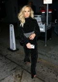 Nastia Liukin seen leaving Craig's during a night out in West Hollywood, Los Angeles