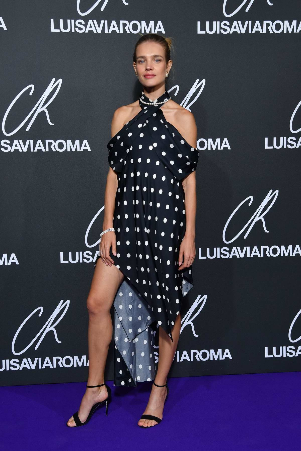 Natalia Vodianova attends the CR Fashion Book x Luisasaviaroma photocall during Paris Fashion Week in Paris, France