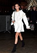 Nina Dobrev attending the Louis Vuitton show during Paris Fashion Week in Paris, France