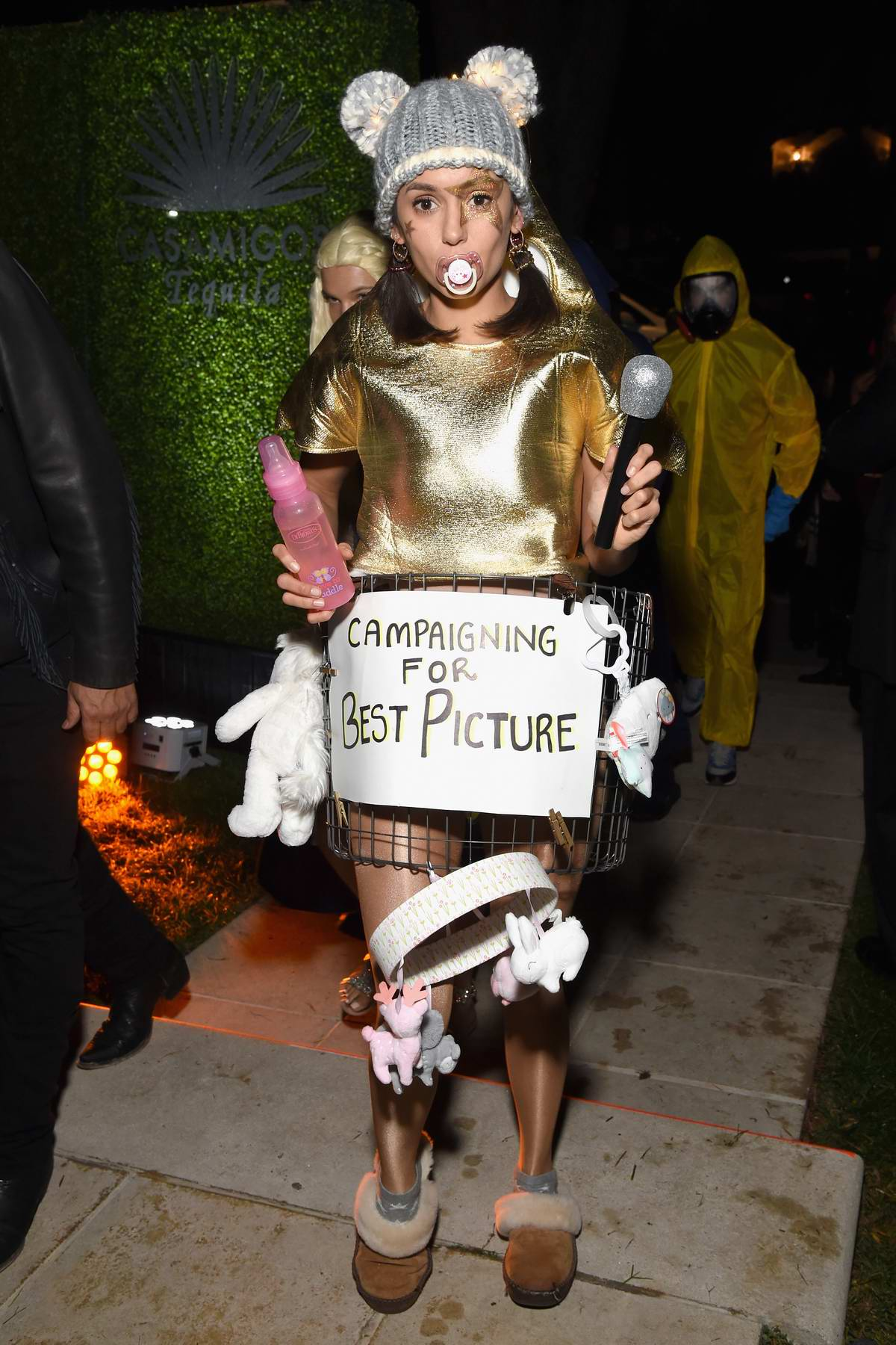 Nina Dobrev attends the Casamigos Halloween Party in Beverly Hills, Los Angeles