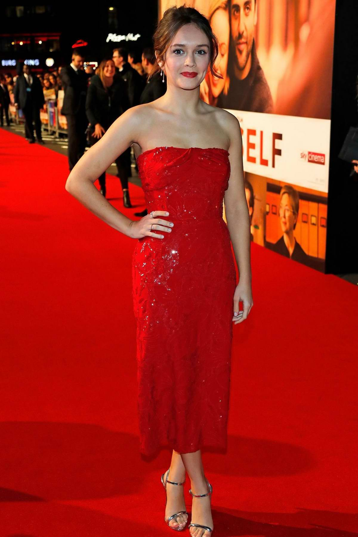 Olivia Cooke attends 'Life Itself' European Premiere during the 62nd BFI London Film Festival in London, UK