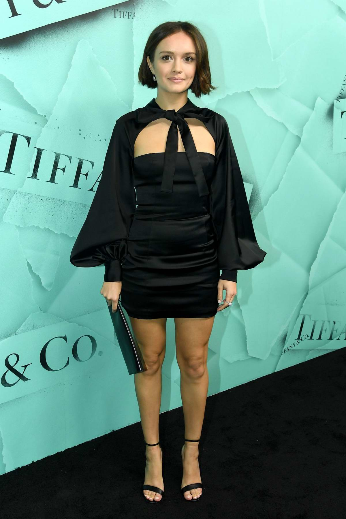 Olivia Cooke attends Tiffany & Co. Celebrates 2018 Tiffany Blue Book Collection in New York City