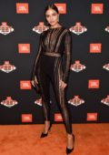 Olivia Culpo at the JBL Fest 2018 at Caesars Palace in Las Vegas, Nevada