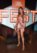 Olivia Culpo hosts JBL Fest 2018 in Las Vegas, Nevada