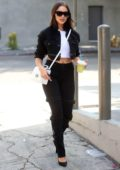Olivia Culpo looks chic while heading to a gym in West Hollywood, Los Angeles