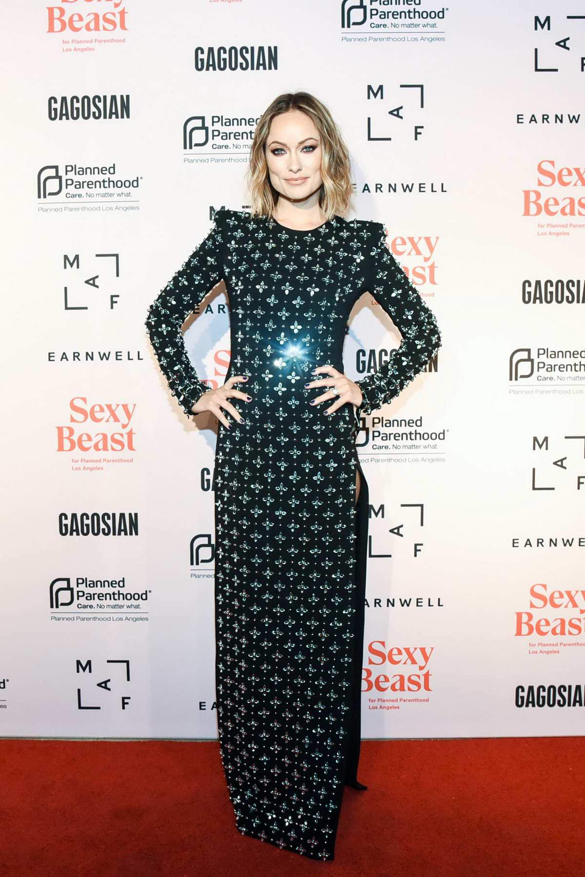 Olivia Wilde attends The Sexy Beast Gala - A Benefit For Planned Parenthood LA in Los Angeles