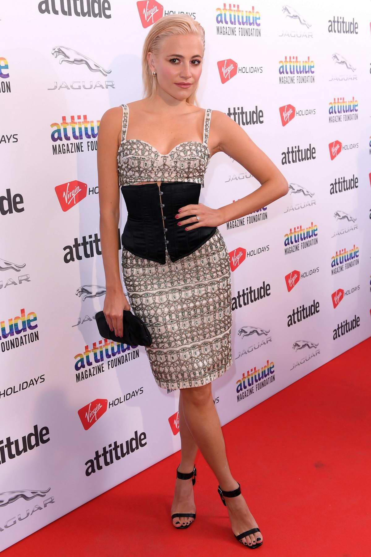 Pixie Lott attends the Attitude Magazine Awards 2018 in London, UK
