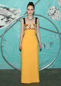 Rachel Brosnahan attends Tiffany & Co. Celebrates 2018 Tiffany Blue Book Collection in New York City