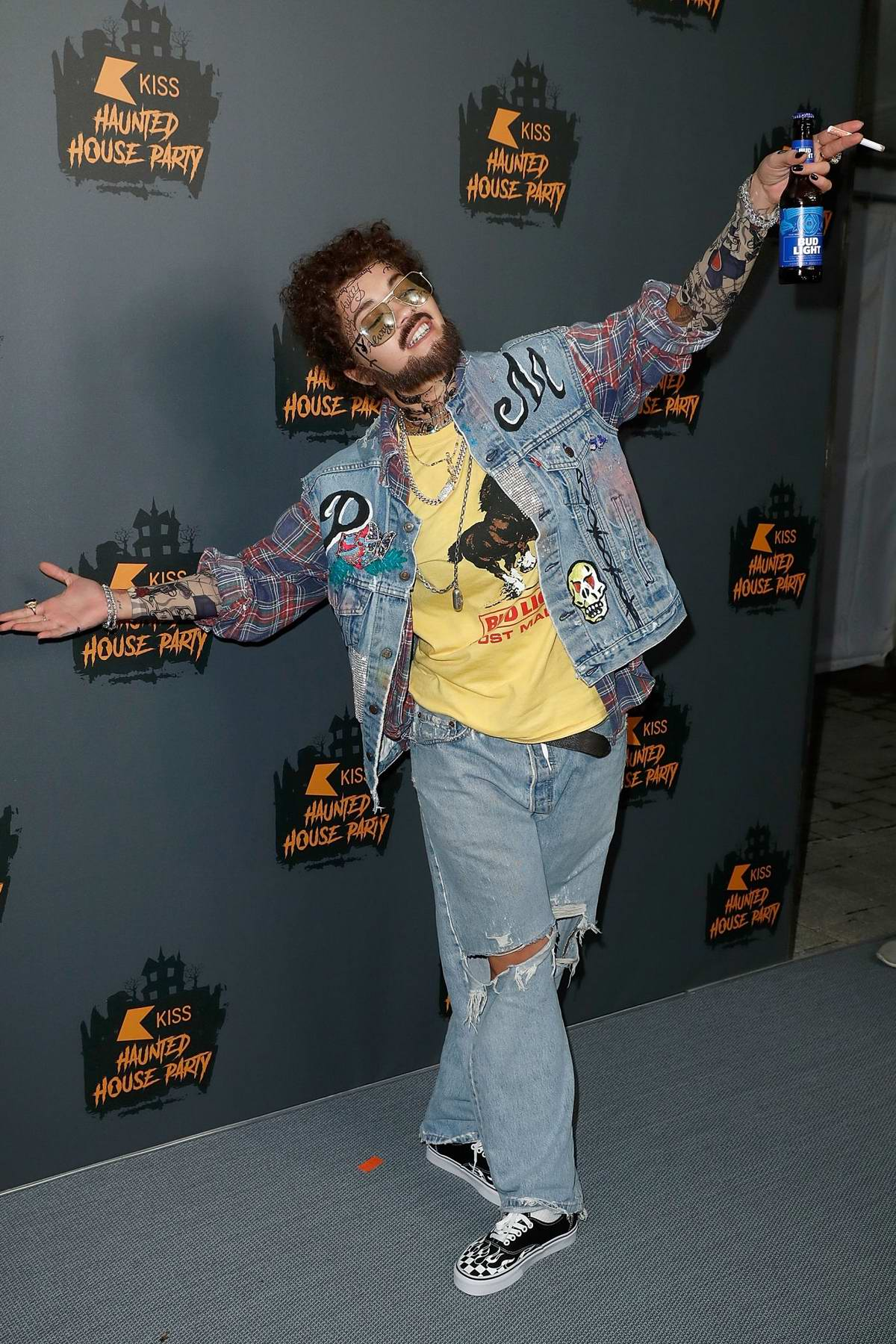 Rita Ora attends the KISS Haunted House Party 2018 in London, UK